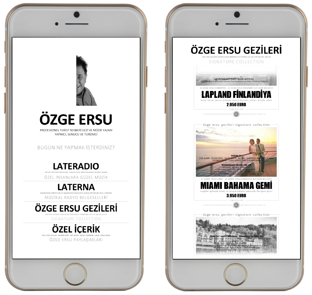 Özge Ersu Application