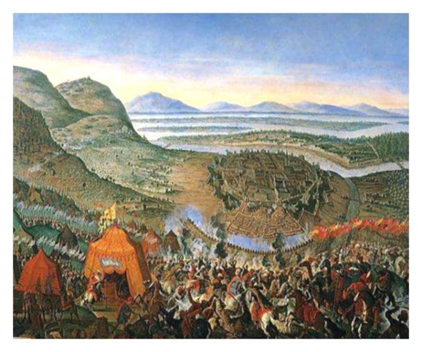 Osmanli Ordusu Kahlenberg Tepesinde
